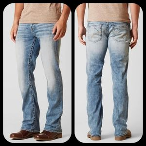 🆕️ BKE buckle Aiden Mens Bootcut stretch Jeans